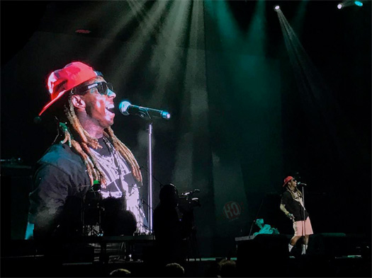 Lil Wayne Performs Im The One Live At The 2017 MEO Sudoeste Festival In Portugal