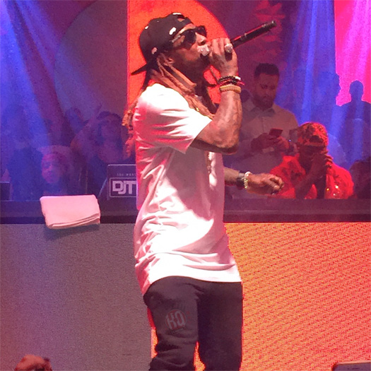 Lil Wayne Performs Im The One, Wasted & More Live At GOTHA Nightclub In Cannes France