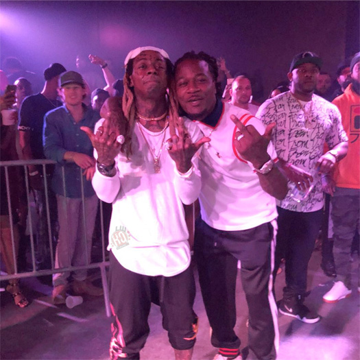 Lil Wayne Performs John, Go DJ & No Problem At OTR LIVE