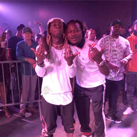 Lil Wayne Performs John, Go DJ & No Problem At OTR LIVE