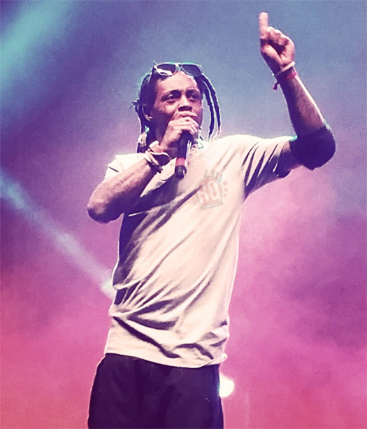Lil Wayne Performs Jumpman Freestyle Live At 2015 Dope Music Festival In Washington