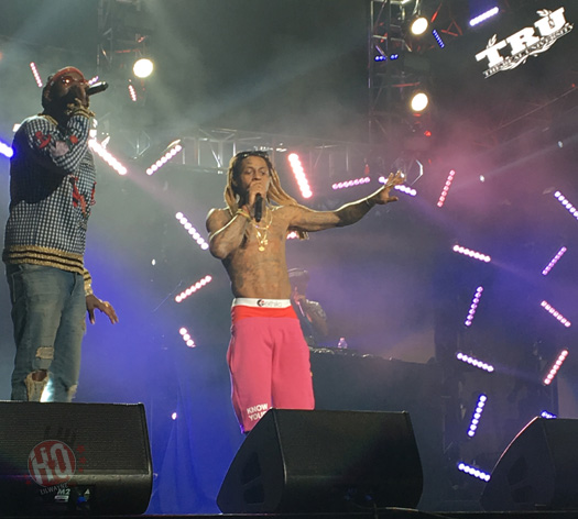 Lil Wayne Performs Live At The 2016 BET Experience With 2 Chainz In Los Angeles