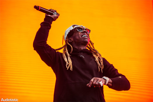Lil Wayne Performs Live At The 2018 Audiotistic Music Festival