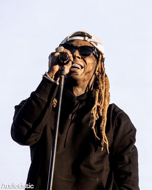 Lil Wayne Performs No Problem Live At The Audiotistic Music Festival, Chants C5