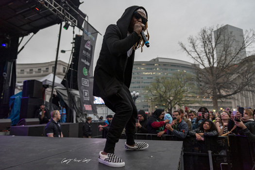 Lil Wayne Performs Live At The 2018 Mile High 420 Rally In Denver