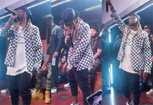 Lil Wayne Performs Live At His 2018 NFL Draft Party In Dallas