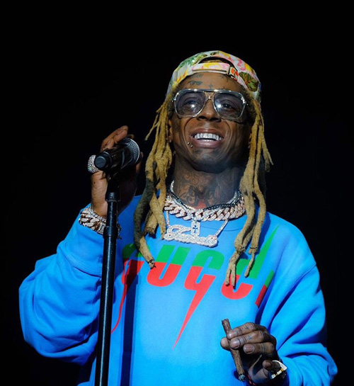 Lil Wayne Performs Live At The 2019 Soundset Festival In Minnesota