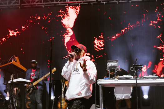 Lil Wayne Performs Live At The 2019 JMBLYA Festival In Dallas - Pictures