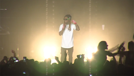 Lil Wayne Performs Live In Alaska For The Very First Time
