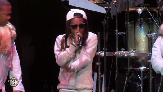 Lil Wayne Performs Live At Busta Rhymes Hot For The Holidays Concert In New Jersey