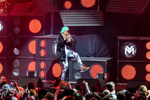 Lil Wayne Performs Live In Camden For The Final Stop Of His Joint Tour With Blink 182