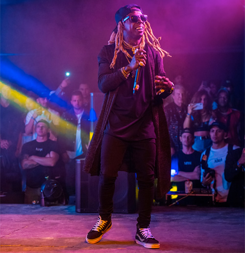 Lil Wayne Performs Live During Combsfest At 2018 Coachella