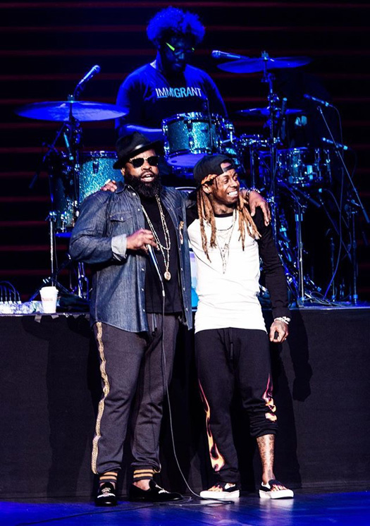 Lil Wayne Performs Live At Dave Chappelle & The Roots Live From Radio City Residency In New York
