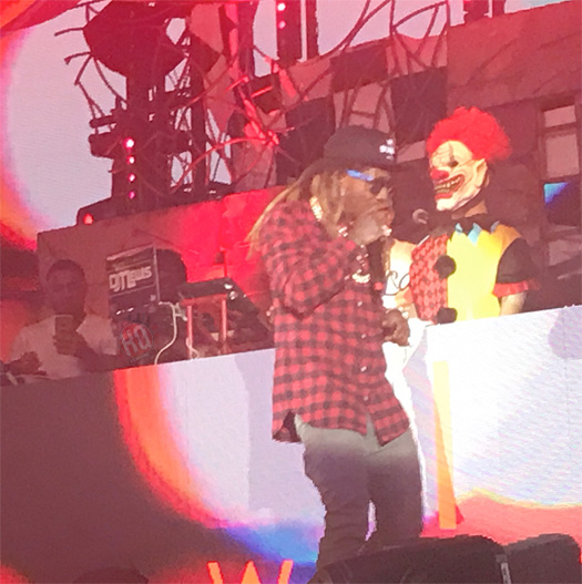 Lil Wayne Performs Live At Drais Nightclub In Las Vegas Over Halloween Weekend