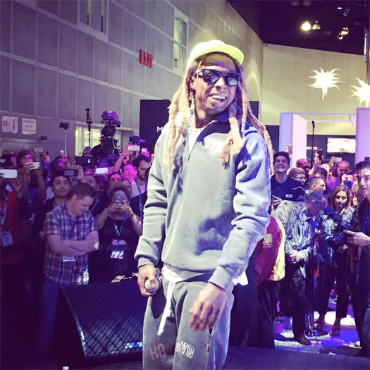 Lil Wayne Performs Live At E3 In Los Angeles