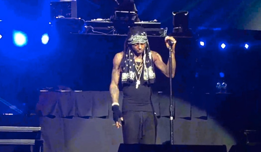 Lil Wayne Performs Live On The Final Stop Of His The Dedication Tour In Nebraska