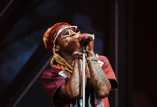 Lil Wayne Performs Live In Hartford For The First Stop Of His & Blink-182 Joint Tour