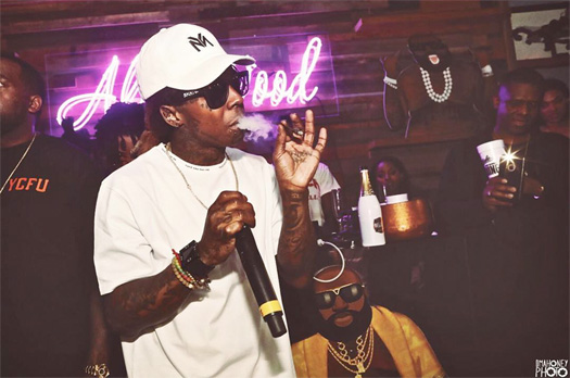 Lil Wayne Performs Live At Hyde Sunset In Los Angeles, Calls Out A Dude Standing In Front Of Him