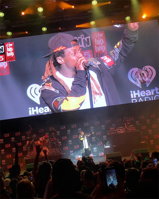 Lil Wayne Performs Live At JAMN 945 2017 Summer Jam Concert, Goes On An Angry Rant After Staff Tell Him He Has To Cut His Set Early