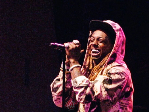 Lil Wayne Performs Live At Jannus Live In St Petersburg, Shows Love To Texas
