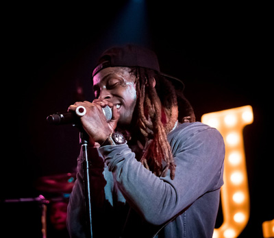 Lil Wayne Performs Live At Jas Prince Birthday Bash In Houston On Halloween