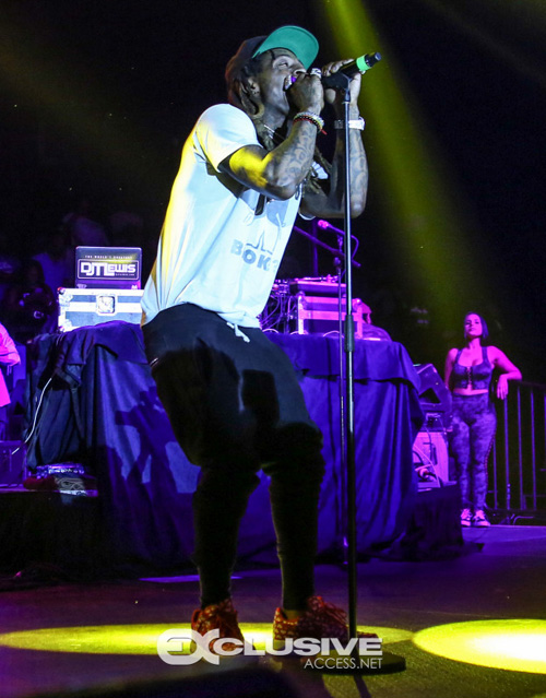 Lil Wayne Performs Live At JSU 2017 Homecoming Concert In Jackson Mississippi