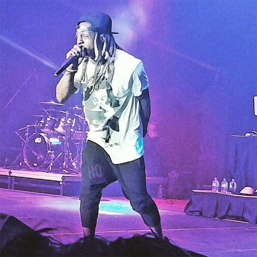 Lil Wayne Performs Live In Kennewick For The Very First