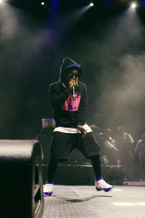 Lil Wayne Performs Live At Old Dominion University In Norfolk Virginia
