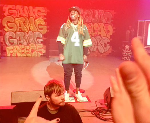 Lil Wayne Performs Live At The Orpheum Theater In Madison Wisconsin