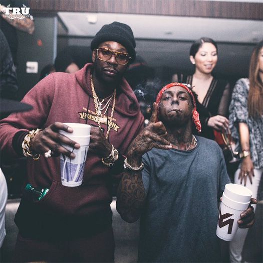 Lil Wayne Performs Live & Shows Off Dance Moves At LIV Nightclub With 2 Chainz, Future & Yo Gotti