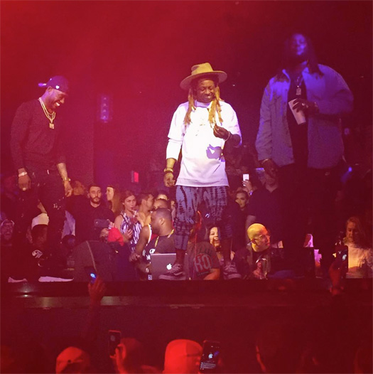 Lil Wayne Performs Live At STORY Nightclub In Miami, Shouts Out YMROC