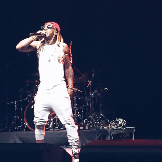 Lil Wayne Performs Live At Towson University 2016 Fall Fest In Maryland
