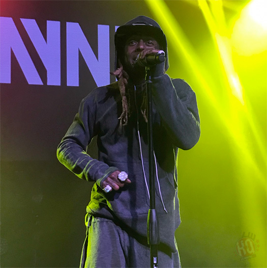 Lil Wayne Performs Live At Venue 578 In Orlando, Kisses The Hand Of A Woman In The Front Row