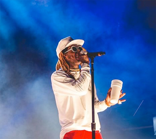Lil Wayne Performs Live In Western Sydney Australia On The 2018 Jumanji Festival