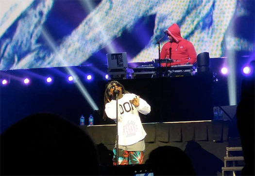 Lil Wayne Performs London Roads & More Live In Sioux Falls On His The Dedication Tour