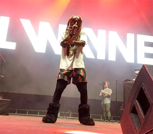 Lil Wayne Performs Mona Lisa, Let It Fly, POMS, Dont Cry, Uproar, Dedicate & Open Safe At The ACL Festival