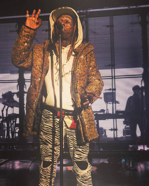 Lil Wayne Performs Mona Lisa Live At The Fillmore Silver Spring In Maryland