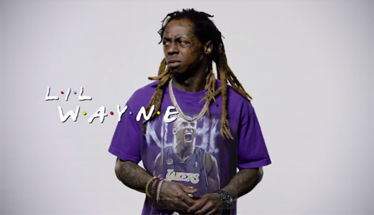 Lil Wayne Hilariously Performs An NFL Edition Of The Friends Theme Song
