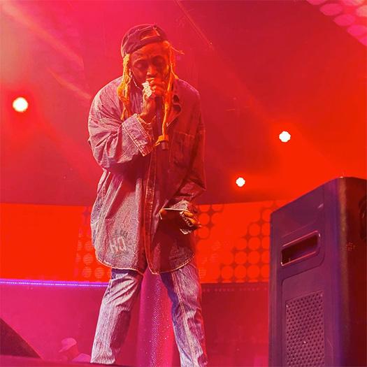 Lil Wayne Performs Seeing Green & More Live At Drais Nightclub In Vegas