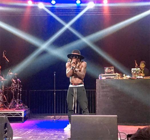 Lil Wayne Performs She Will, Believe Me, 6 Foot 7 Foot & More Songs Live In Salt Lake City Utah