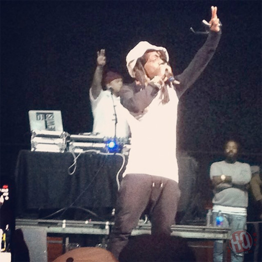 Lil Wayne Performs Steady Mobbin Live In Biloxi Mississippi