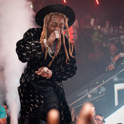 Lil Wayne Performs Steady Mobbin, Uproar & More Live At His Halloween Party In Miami