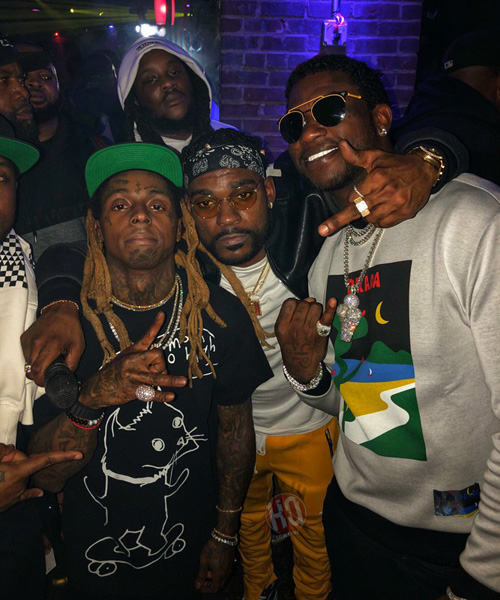 Lil Wayne Performs Wasted, A Milli & More Live At Oak Room In Charlotte Over CIAA Weekend