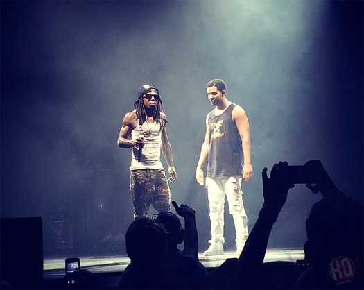 The Drake vs Lil Wayne Tour Makes A Stop In Phoenix Arizona