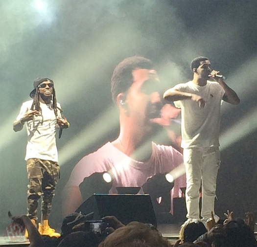 Drake Sings Happy Birthday To Lil Wayne, Gives Him His Platinum Rolex Watch