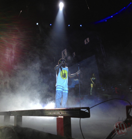 Lil Wayne Performs Live In Pittsburgh On Americas Most Wanted Tour