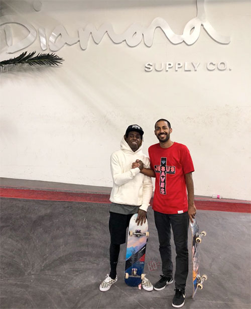 Lil Wayne Plays His Tha Carter V Album For Harvey Soto, Who Says It Sounds Crazy