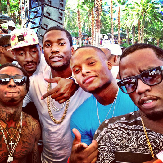 Meek Mill Says He Had A Recent Studio Session With Lil Wayne & Explains Why He Is An Influence