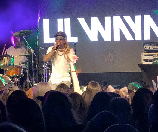 Lil Wayne Puts On A Private Show For Over 300 MyFreeCams Models In Las Vegas