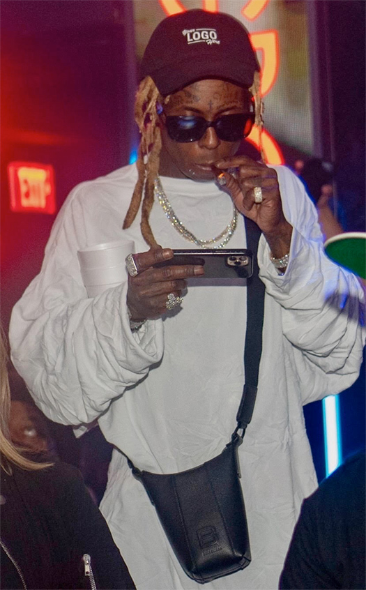 Lil Wayne Returns Back To His Usual LIV On Sundays Appearance In Miami